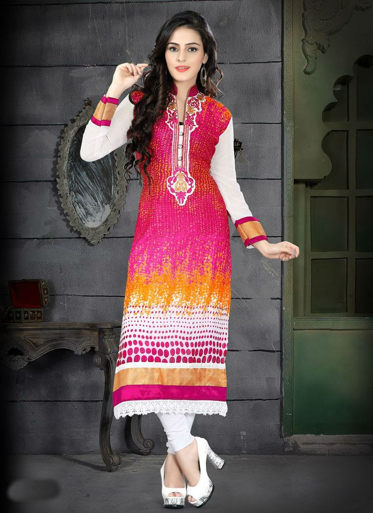 Designer Kurti Collection. Check out.