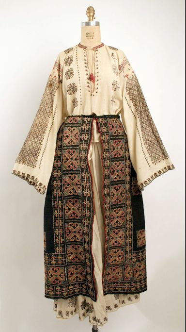 Romanian Ensemble    The Metropolitan Museum of Art, New York   Costume Institute     Date: 19th century    Credit Line: Rogers Fund, 1908