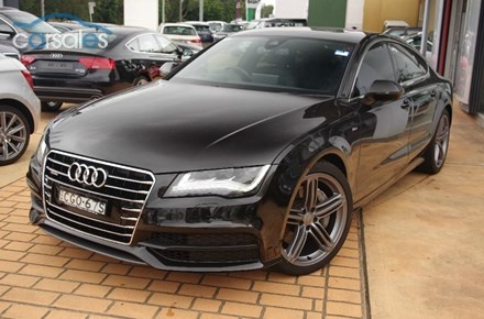 2012 AUDI A7 TFSI SPORTBACK S-TRONIC QUATTRO 4G Hatch Cars For Sale in NSW - carsales.com.au