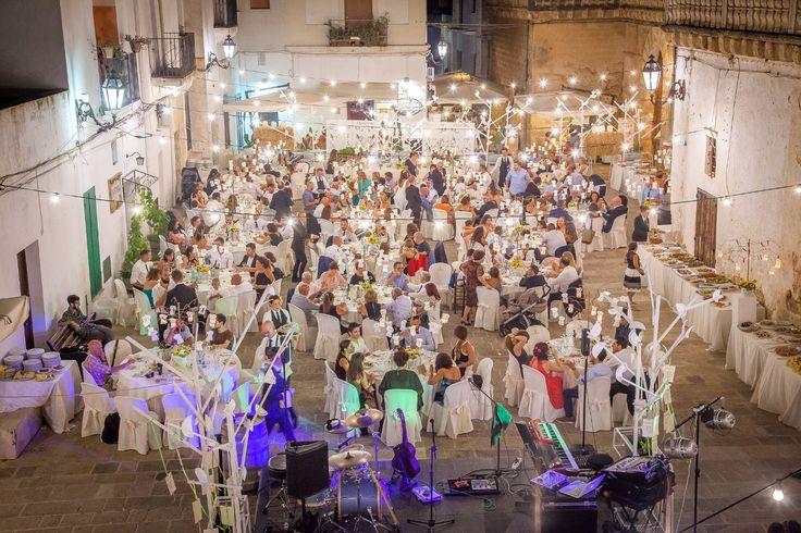 Ricevimento di nozze Leccce a Piazza Castello a Felline