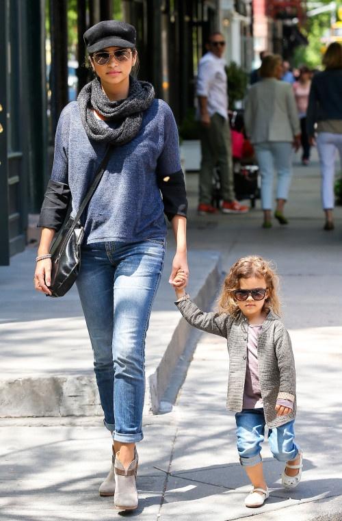 Levi McConaughey Takes Mom Jewelry Shopping.