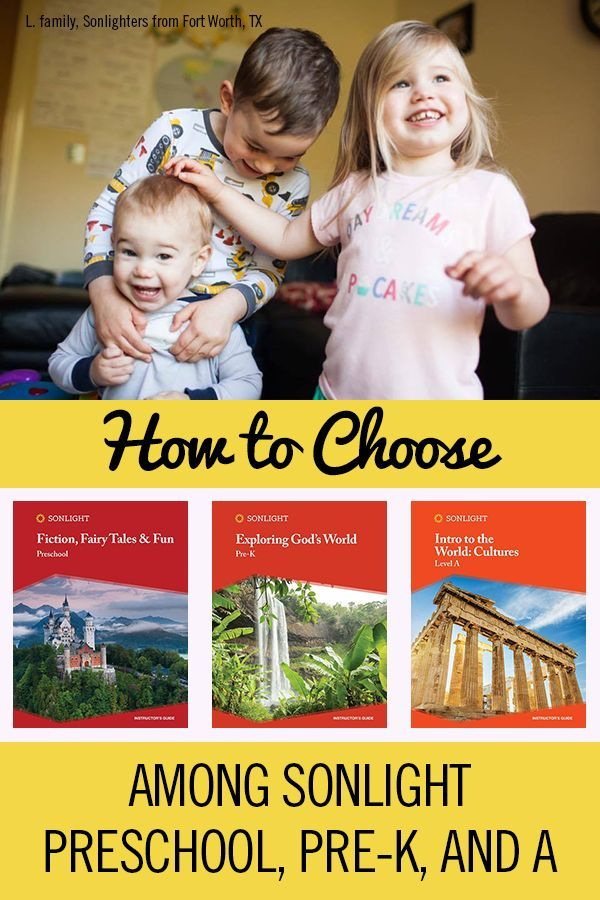 How To Choose Among Sonlight Preschool Pre K And A Homeschool