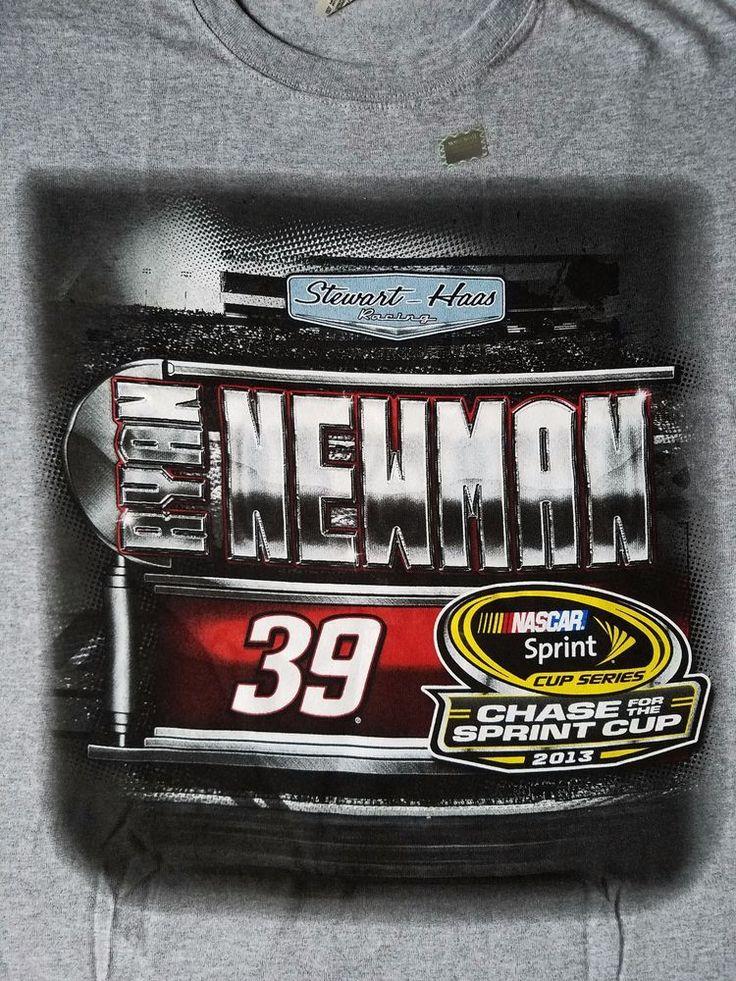 #RyanNewman# Nascar Shirt Size XL 2013 Chase for Spirit Cup Stewart Haas #Racing #StewartHaasRacing