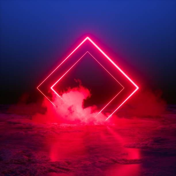 Royalty Free Neon Geometric Pictures Images And Stock Photos Neon Photography Neon Light Art Light Background Images Neon background hd for editing