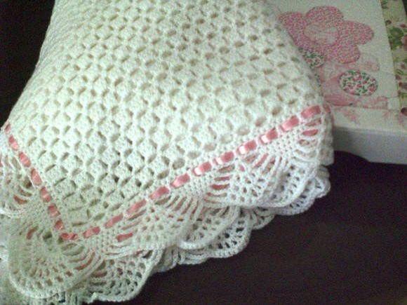 17 mejores ideas sobre puntada de manta en pinterest - Manta de crochet facil ...