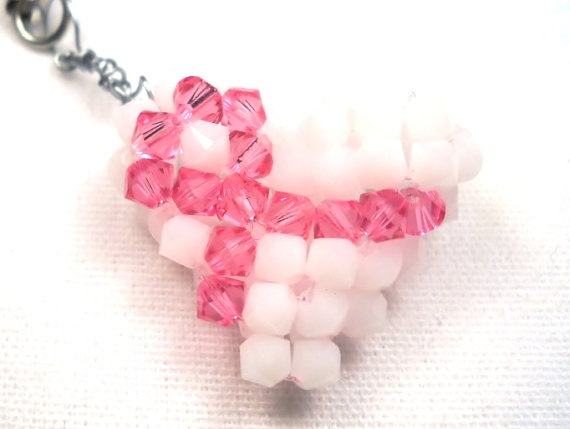 Pink Ribbon Puffy Heart Charm  Breast Cancer by SmileykitCreations, $10.00: Heart Charm, Puffy Heart, Ribbon Puffy, Breast Cancer Awareness, Charm Breast, Cancer Ideas, Awareness Charm, Pink Ribbons, Craft Ideas