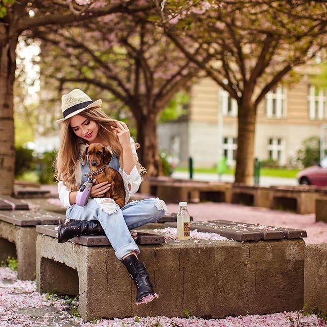 Немного цветущей Праги в питерские ленты🌸 красавица @nastyafrolova ❤ стиль @irisha_l_ 💎#rinashmel