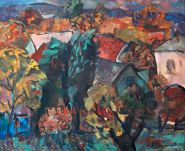 #NikolayMalafeev #canvasprint #print #buypainting #buyart #decorative #cityscapes #trees #sky #building