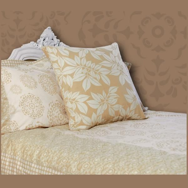 Bedding - Beige Duvet Cover in 2 Sizes - SALE