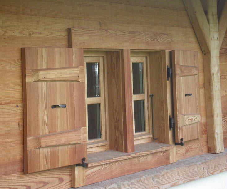 Pascal Mossaz chalet builder in Haute Savoie FranceOutdoor wood trim