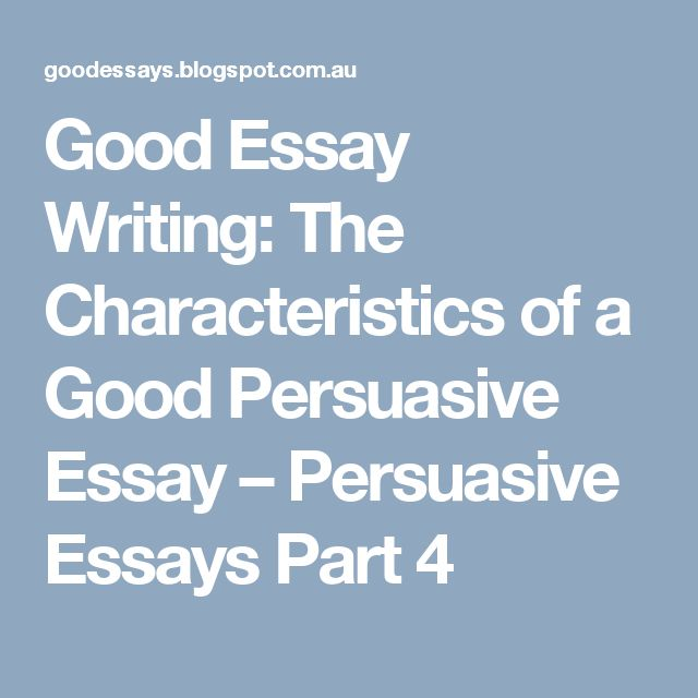 five techniques of an effective argument/persuasive essay Want to become a better writer in this video, i will share five easy and quick tips that will improve writing in formal and.