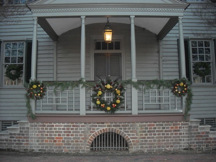 Colonial Williamsburg Christmas Wreaths