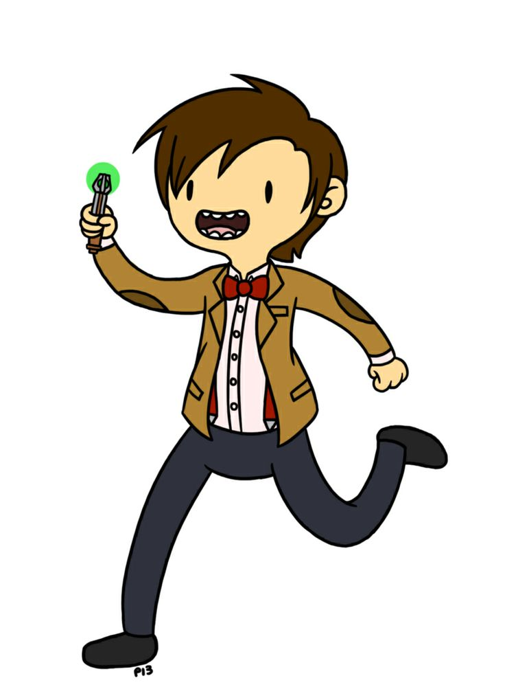 Adventure Time Drawing Style Doctor who in adventur...