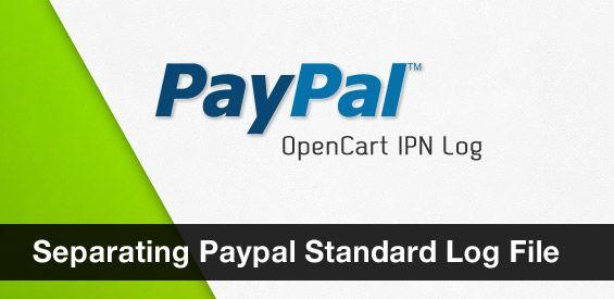 Separating Paypal Standard Log File