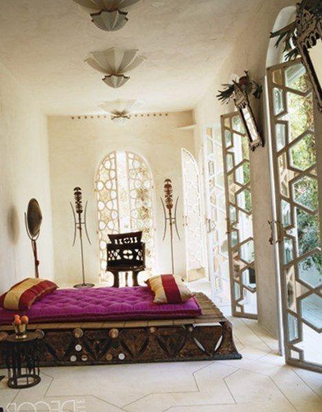 Moroccan bedroom decor - https://bedroom-design-2017.info/ideas/moroccan-bedroom-decor.html. #bedroomdesign2017 #bedroom