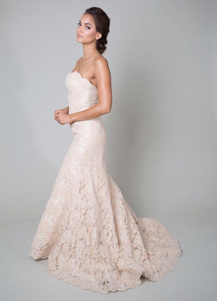 Love blush lace
