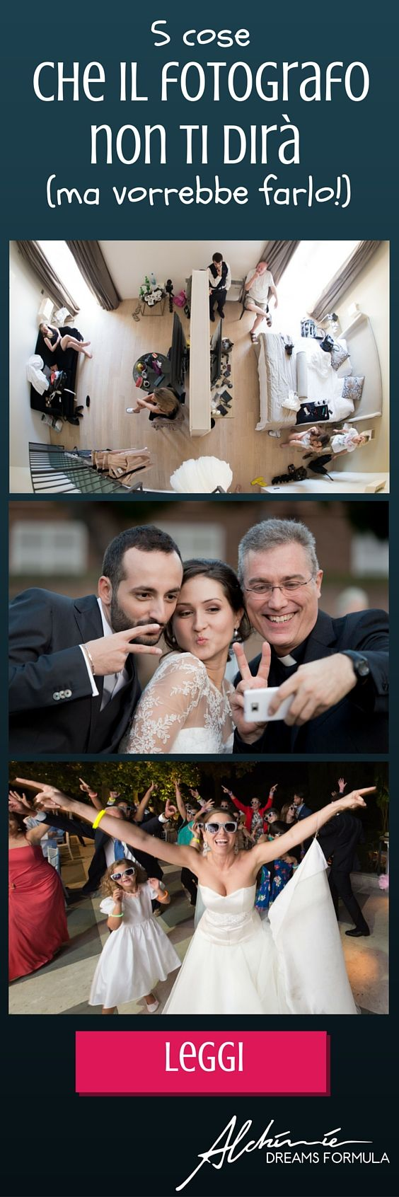 5 consigli che il fotografo per il tuo matrimonio dovrebbe darti, per aiutarti ad ottenere il massimo dal servizio fotografico per le tue nozze