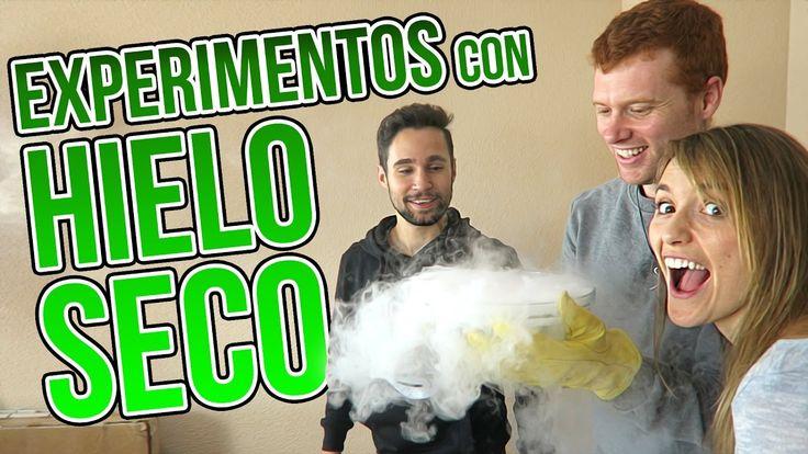 3 INCREÍBLES EXPERIMENTOS DE HIELO SECO CON JPELIRROJO Y ROENLARED