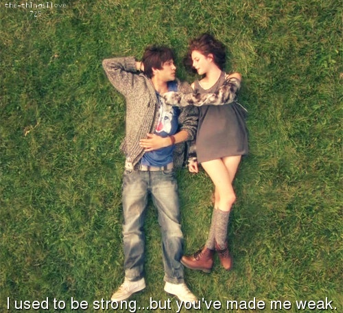 Skins effy & freddie. I loved this episode :)