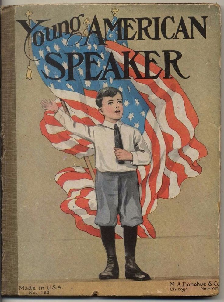 C/1890 Young AMERICAN Speaker M A Donohue Co Publisher