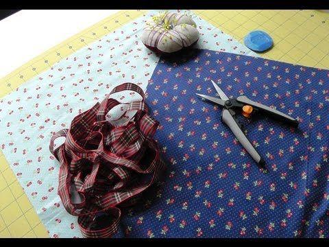 Living the crafts: Tutorial Como coser una Bolsa multiusos