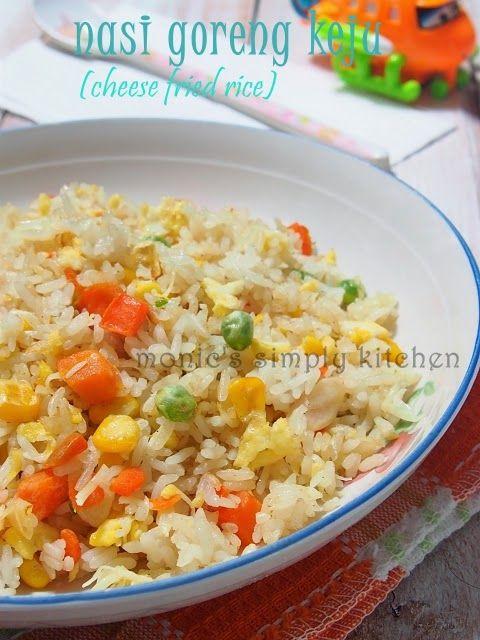 resep nasi goreng keju mudah