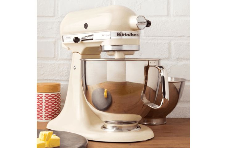 Shop Online for KitchenAid 5KSM160PSAAC KitchenAid Artisan Stand Mixer Almond Cream and more at The Good Guys. Grab a bargain from Australia's leading home appliance store.