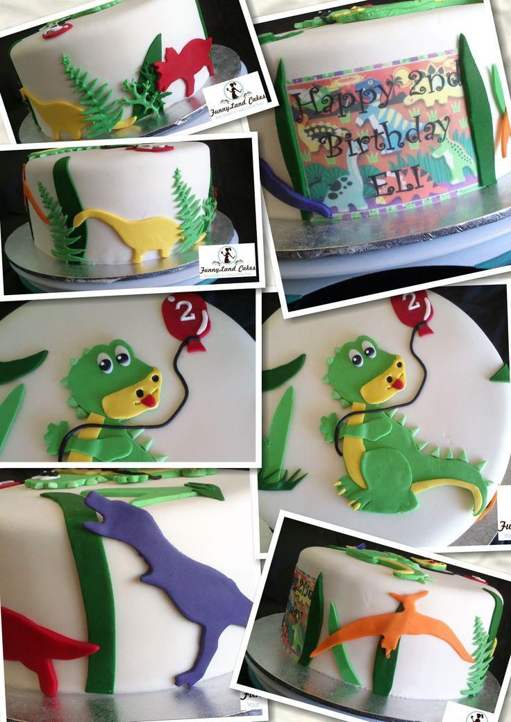 Eli's 2nd Birthday Cake