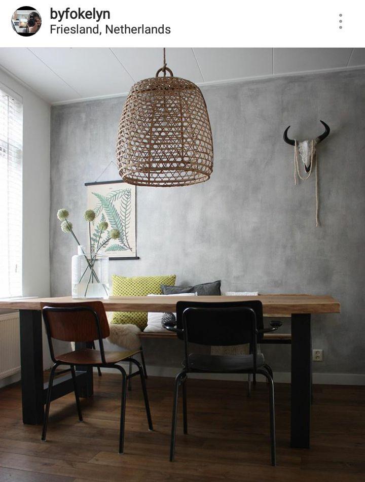 54 best betonlook verf images on pinterest. Black Bedroom Furniture Sets. Home Design Ideas