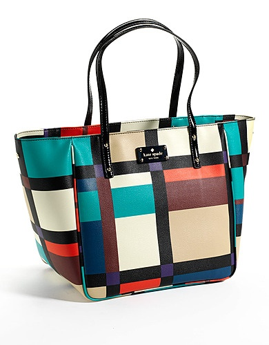 A colorful and absolutely captivating from #KateSpade! #lordandtaylor #projectrunway