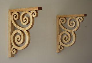 follow back on the blog for instructions << craftylaser shelf bracket…