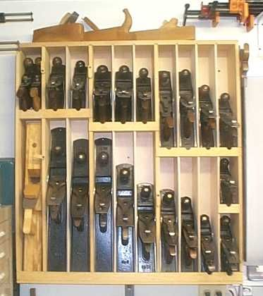 Woodworking Hand Tools Storage