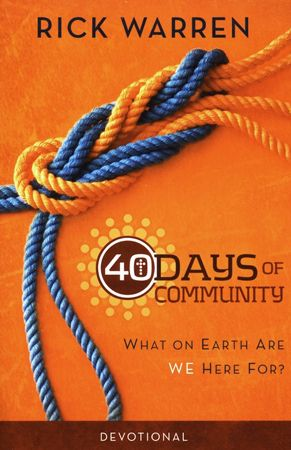 40 days of purpose study guide pdf