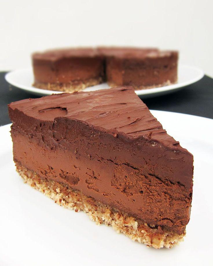 gateau chocolat caramel vegan les recettes populaires blogue le blog des g teaux. Black Bedroom Furniture Sets. Home Design Ideas