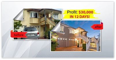 After 12 days on the market this home made $30,000 profit!.  Check out some of our other before and after's at www.brisbanemakeover.com