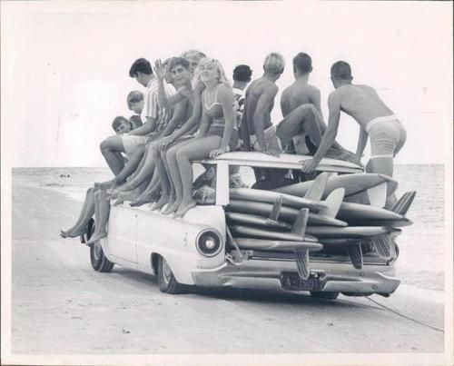 We Took The Ford Falcon Station Wagon Down To The Beach. Letu0027s SURF!