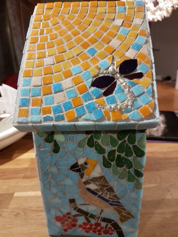 Mosaic Bird house by Carillo