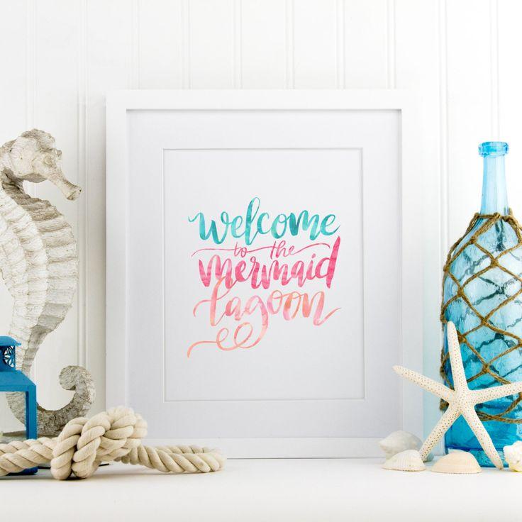 Mermaid Lagoon Print