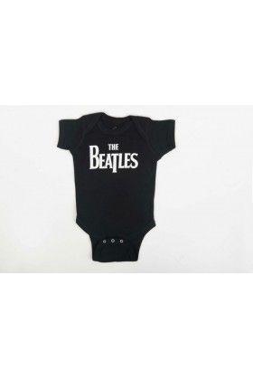 Kids in Rock The Beatles Erkek Bebek Tulum