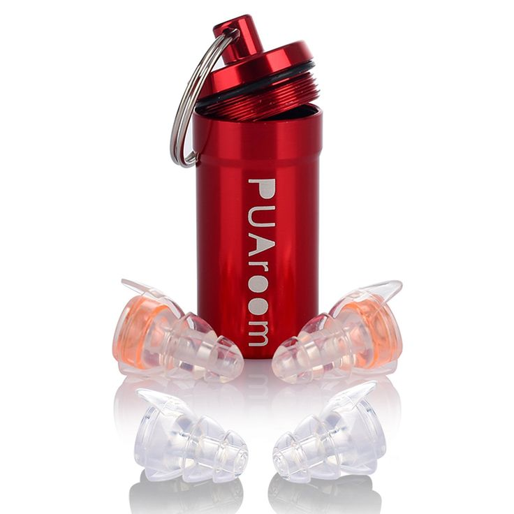 PUAroom High Fidelity Ear plugs Noise Canceling Filtering Hearing Protection With 2 Different Size Reusable HiFi Earplugs to Reduce Noise Evenly to Protect Your Ears While Enjoying the Best Sound Quality for Musicians/Drummers/DJ/Concerts/Travel/festival/motorcycles/Sports Events/Other Daily Needs (Blue): Amazon.ca: Tools & Home Improvement
