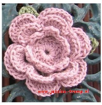 bloemen haken gratis haakpatronen free crochet flower patterns crocheted flowers