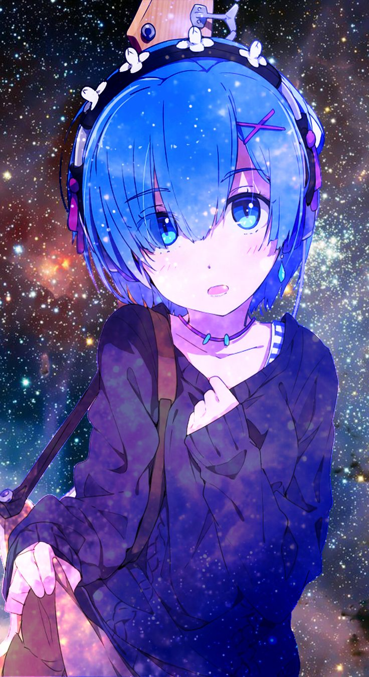 [Media] Rem galaxy phone wallpaper (1080x1920) Need
