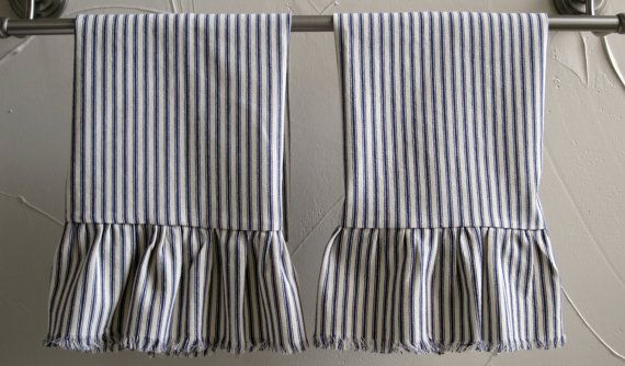 The hand towels would grace any home, either in the kitchen, a guest bath, at the dinner table in a large bread basket, or even as an accent in a creative ...