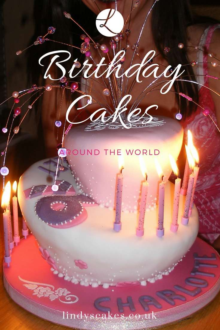 Birthday Cakes Apparently Originated In Greece The Cake Was Baked Round Symbolizing A Full Moon Candles Used To Top Were Representative Of