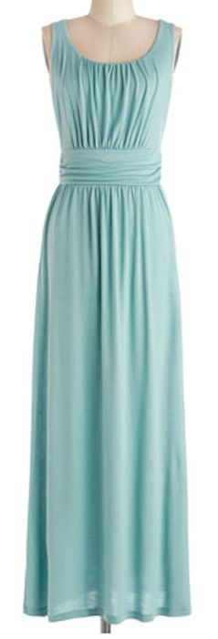 Jersey maxi dress in #mint http://rstyle.me/n/gbe4hnyg6