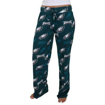 Philadelphia Eagles Women's Insider Pants - Midnight Green