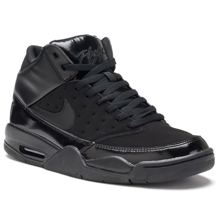 Nike Air Flight Classic Men's Basketball Shoes, Size: 11.5, Grey (Charcoal)