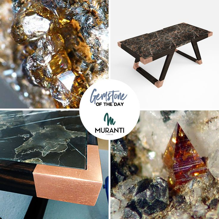 The gemstone of the day is ANATASE💎 Brown never goes out of style. (www.muranti.com) #gemstoneoftheday #muranti #luxury #furniture #gemstone #anatase #color #anatasis #centertable #tablr #inspiration #interiordesign #homedecor #design #interiorismo #interieur #интерьер #colortrends #trends #pantone #decofair
