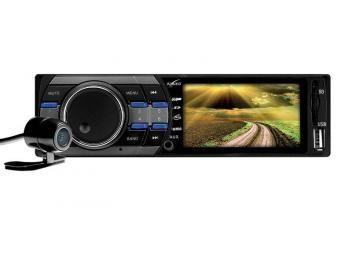 """Reprodutor Multimídia Naveg NVS 3030CR LCD 3"""" - Câmera de Ré Entrada USB Auxiliar Cartão SD"""