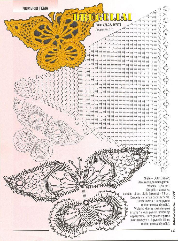 276 mejores im genes sobre aplicaciones de ganchillo en - Dibujos de ganchillo ...